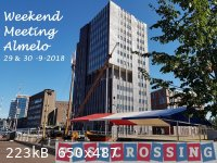 Postcrossing meetingcard Almelo forum.jpg - 223kB